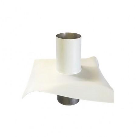 Sortie toiture, membrane PVC