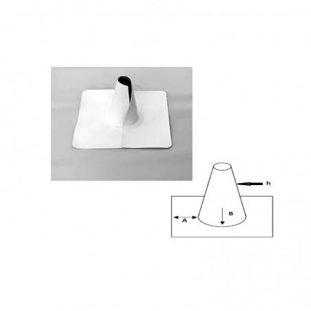 Enveloppe ouverte conique en PVC/TPO