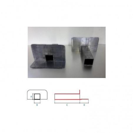 EEP angulaire carrée 90° en plomb